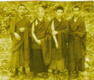 Founders of Sermey Tsangpa Khangtsen India