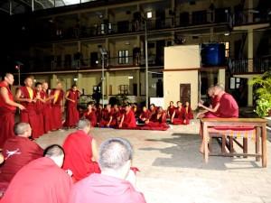 Sera Mey Tsangpa Khangtsen Monks debating